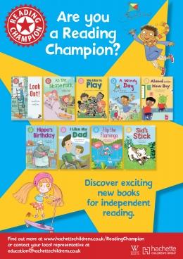 Win a set of 24 Reading Champion books!